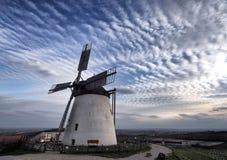 Windmill in Retz Austria stock image