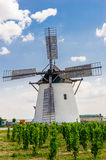 Windmill in Retz, Lower Austria Royalty Free Stock Photo