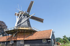 Windmill in Rijssen Holland Royalty Free Stock Photo