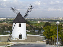 Windmill - Rojales - Costa Blanca - Spain Stock Photos