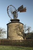 Windmill in Ruprechtov Royalty Free Stock Image