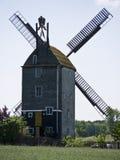 Windmill Saalow-close Stock Photography
