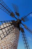 Windmill sails Stock Photo