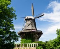 The windmill. In a Sans Souci park, Potsdam Royalty Free Stock Photo