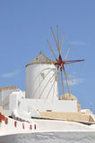 Windmill - santorini (cyclades) Stock Photography