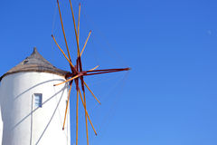Windmill, Santorini Greece Royalty Free Stock Image