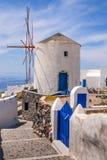 Windmill Santorini Royalty Free Stock Photography