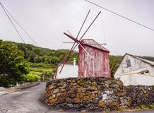 Windmill on Sao Jorge Island, Azores