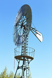 Windmill serving as water pomp Stock Image