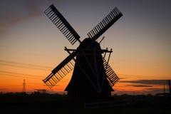 Windmill, Sky, Mill, Dawn stock image