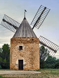 Windmill in the south of France Royalty Free Stock Photography