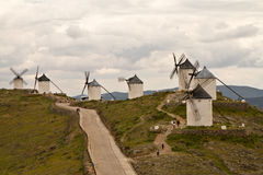 Windmill in Spain. Windmill Spain Quixote Wind Farina Stock Images
