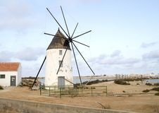 Windmill in spain Royalty Free Stock Images