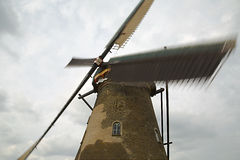 Windmill Spinning Sail Stock Image