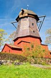 Windmill in Stockholm Royalty Free Stock Photos