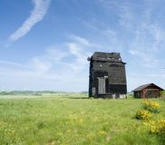 Windmill, Sulimice, Poland stock images