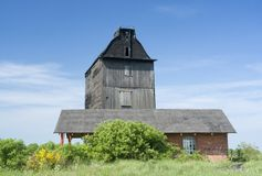 Windmill, Sulimice, Poland Royalty Free Stock Photos
