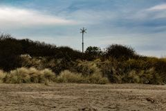 Windmill Surrounded By Grass Stock Photos