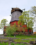 Windmill in Sweden, Scandinavia, Europe Stock Photography