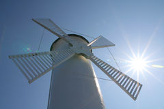 Windmill in Swinoujscie Stock Images
