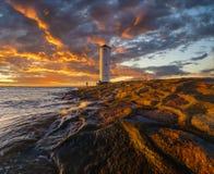 Windmill in Swinoujscie, Baltic Sea, Poland Royalty Free Stock Photography