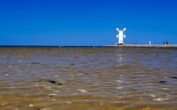 Windmill swinoujscie Royalty Free Stock Photo