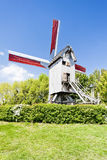 Windmill of Terdeghem. Nord-Pas-de-Calais, France Royalty Free Stock Images