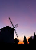 Windmill. Tipical spanish windmill Stock Photo