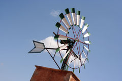 Windmill top Royalty Free Stock Photography