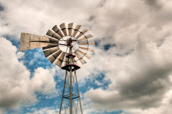 Windmill Top Stock Photo