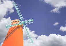 Windmill tower Stock Images