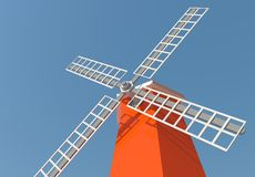 Windmill tower Royalty Free Stock Photo