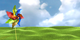 Windmill toy Royalty Free Stock Photo