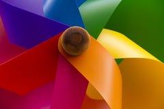 Windmill toy Stock Photo