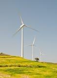 Windmill turbine power energy generator Stock Images