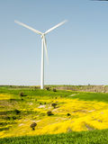 Windmill turbine power generation Stock Photography