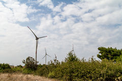 Windmill Turbines royalty free stock images