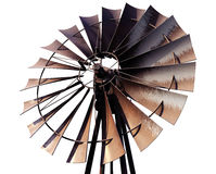 Windmill vanes Stock Photo
