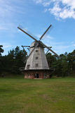 Windmill in Ventspils Royalty Free Stock Image