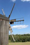 Windmill in the village Stock Images