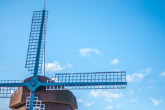 Windmill Village Royalty Free Stock Images