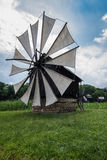 Windmill in the Village Museum Royalty Free Stock Photos