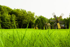 Windmill, Village Museum, Sibiu Royalty Free Stock Image