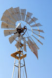 Windmill for Water Well Pump Closeup Royalty Free Stock Photography