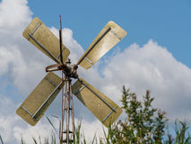 Windmill in Weerribben Stock Image