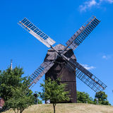 Windmill in werder (havel) Stock Images