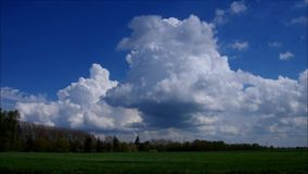Windmill Westeraccum in East Friesland stock footage