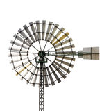 Windmill. On white background, clipping path included Stock Photos