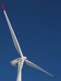 Windmill. White Windmill on blue sky Stock Photos
