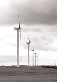 Windmill wind turbine power Royalty Free Stock Photography